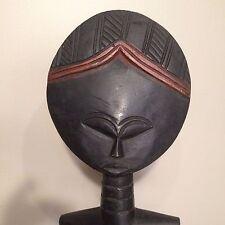 Hand Carved Fertility Statue Figurine Akuaba Akwaba Ashanti Ghana  20.5 in. tall