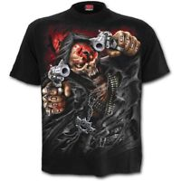 Spiral 5FDP ASSASSIN Licensed Band T-Shirt Five Finger Death Punch Plus/3XL/4XL