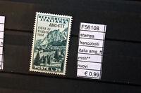 FRANCOBOLLI STAMPS ITALIA AMG_FTT NUOVI MNH** ( F56108)