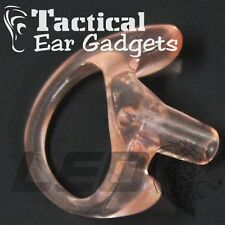 GHOST RIGHT MEDIUM Earmold Open Ear Insert for POLICE by Tactical Ear Gadgets