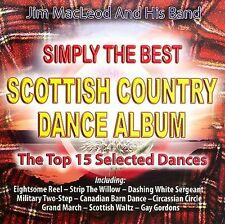1 CENT CD Simply the Best Scottish Country Dance Album - Jim MacLeod