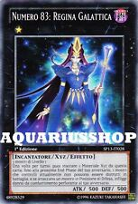 Yu-Gi-Oh! Numero 83 Regina Galattica SP13-IT028 fortissima carta yuma   Zexal