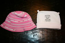 2 Hats Noppies winter & Gap summer, toddler baby girl