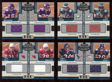 Donruss Playoff Honors Memorabilia NFL Football Card X4 Vikings Eagles Cardinals