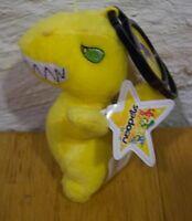"McDonald's Neopets YELLOW GRARRL CLIP 4"" Stuffed Animal"