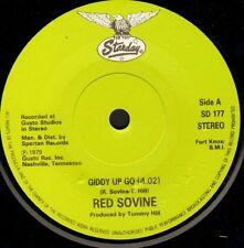 "RED SOVINE giddy up go/love is SD 177 uk starday 7"" WS EX/"