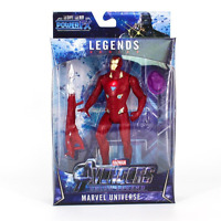 Marvel Legends Avengers Endgame Super Hero Tony Stark Iron Man Action Figure LED