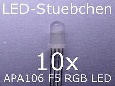 APA106 F5 / P9823 - 5mm RGB LED mit integriertem Controller, wie WS2812B