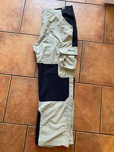 Mens Beige & Black Bear Grylls by Craghoppers Walking Trousers. W38, L29 (short)