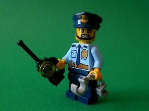 ⭐️ LEGO CITY - PERSONNAGE / FIGURINE - POLICE / LE POLICIER - NEUF