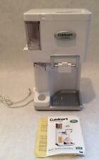 Cuisinart ICE-45 Soft Serve Ice Cream Maker,1.5 Quart,Mix It In,Recipe Book