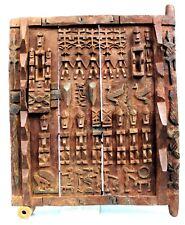 Art Africain Tribal - Superbe Porte de Grenier Dogon - Mali - 43 x 33,5 Cms ++++