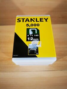 NEW Stanley 1-TRA709-5T 14mm G-Type Heavy Duty Staples 5000 Pieces UK FAST&FREE