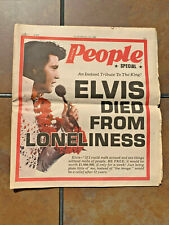 1978 Extra People Magazine Elvis