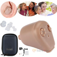 Rechargeable Digital Hearing Aid Severe Loss Invisible BTE Ear Aids High Power