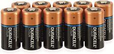 Piles 123 / CR123 / CR123A / DL123 / CR17345 Duracell Photo Lithium 3V Bulk X10