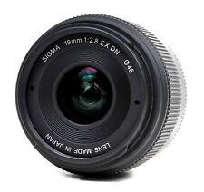 Sigma 19mm 1:2.8 EX DN (Panasonic Lumix / Olympus)