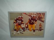 ROCKY BLEIER PITTSBURGH STEELERS  AUTOGRAPHED 11X14 MATTTED PHOTO VERY NICE