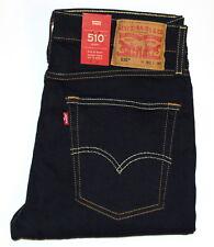 LEVI'S 510 Schwarz Stretchigen Herren Hautenge Jeans W32-36 L29-34 Ausverkauf