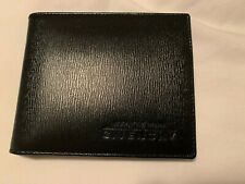 Brand New Gentlemen Givenchy Bifold Leather Wallet (Black)