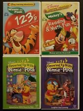 Winnie The Pooh DVD Lot: 123's Reading Math Fun Friends Forever Day of Discovery