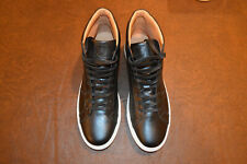 NEW! GREATS Royal High Top Black/White Leather sz 13