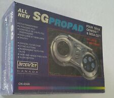 NEW Factory Sealed Clear SG Propad CN-434A 6 Button Controller for Sega Genesis