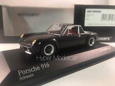 MINICHAMPS 1/43 Porsche 916 Coupè 1971 Black Art. 400066060