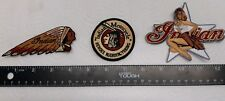 Indian Motorcycle Embroidered Patches 3X