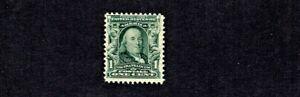 1902-3 U.S. CLASSIC Regular Issue 1c Franklin Sc#300 M/NH/OG GEM!