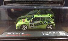 Ixo Altaya 1:43 Seat Ibiza Kit Car Rovanpera  Rally RAC 1996