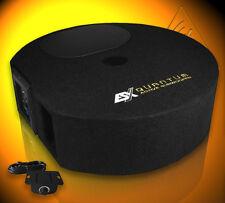 ESX Q 300A Reserverad Aktiv Subwoofer Bass Box Bassbox mit Verstärker Q300A
