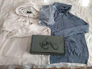 All Saints Mode Merino wool Zip Hoodies (1 Sealed Boxed) Bundle Lot