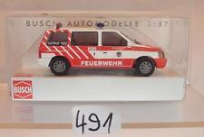Busch 1/87 Nr.44621 Chrysler Voyager Stadtfeuerwehr Attnang Österreich OVP #491