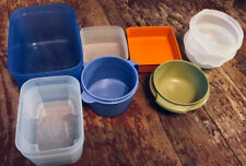 Vnt Tupperware Storage Bowls Containers Lot Of 9 No Lids