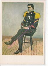 CP ART TABLEAU  ALBERT MARQUET Le sergent de la Coloniale