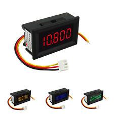 5-digit LED Digital Volt Voltage Meter Voltmeter Car Motor 0.36'' 4 Colors