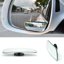 2Pcs Car Blind Spot Adjustabe Mirrors Frameless 360 Degree Rotate Sway RS#27