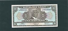 BILLET HAITI  1 GOURDE  NEUF