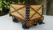 G Scale Flat Car with High Side Gondola. - For SM32/SM45 Gauges