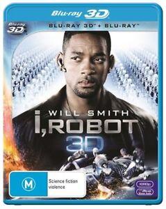 I, Robot (2008, Blu-ray 3D + Blu-ray)