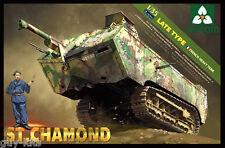 CHAR LOURD FRANCAIS ST CHAMOND, 1918 - Kit TAKOM 1/35 Réf. 2012