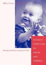 Inclusive Child Care for Infants and Toddlers: Mee