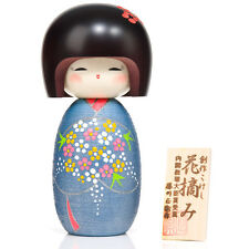 Bunch of Flowers Large Kokeshi Doll