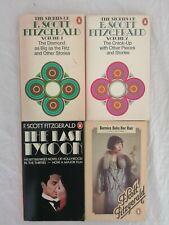 Job lot of 4 F. Scott Fitzgerald Vintage Penguin Paperbacks