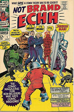Not Brand ECHH Comic Book #1, Marvel Comics 1967 VERY FINE+