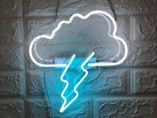 """New Light Cloud Wall Decor Artwork Neon Light Sign 13""""x12"""""""