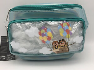 Loungefly Disney Pixar Up Carl & Ellie Adventure Fanny Pack Waist Hip Bag