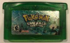 Authentic Pokemon Emerald Version for Gameboy Advance Read Description