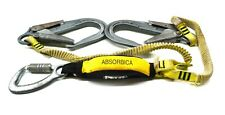 Petzl Absorbica 'Y' Tie-Back Double Lanyard with Energy Absorber L64Yut 150